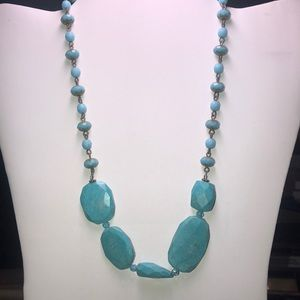 Jewelry - Beautiful Turquoise Necklace 18 inches